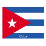 Flag of Cuba Postcard