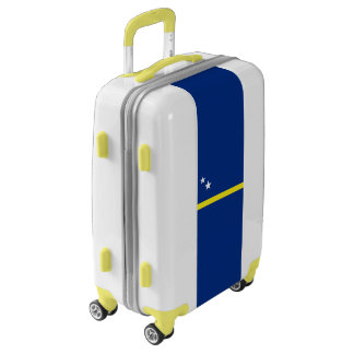 Flag of Curacao Luggage (Carry-On)