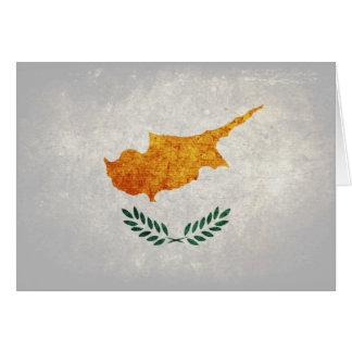 Flag of Cyprus Card