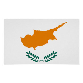 Flag of Cyprus Poster