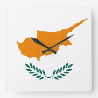 Flag of Cyprus Wall Clock