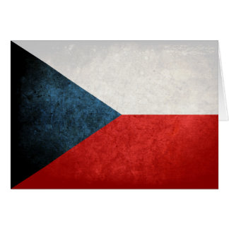 Flag of Czech Republic Card