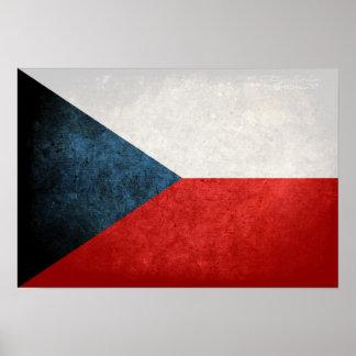 Flag of Czech Republic Poster