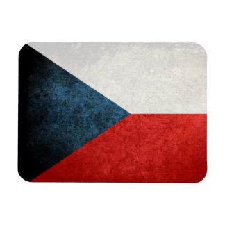 Flag of Czech Republic Rectangular Magnet
