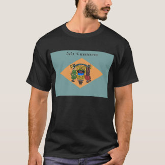 Flag of Delaware Distress Signal T-Shirt