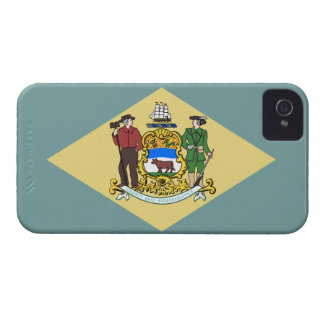 Flag of Delaware iPhone 4 Case