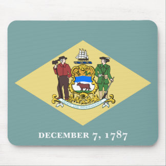 Flag of Delaware Mouse Pad