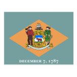 Flag of Delaware Postcards