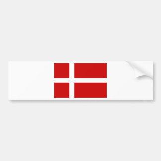 Flag of Denmark Bumper Sticker