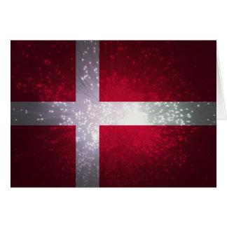 Flag of Denmark Greeting Cards