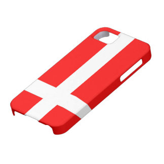 Flag of Denmark Case Mate Tough iPhone 5 Cases