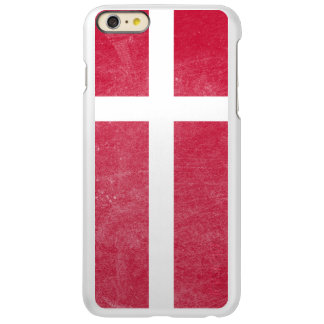 Flag of Denmark Grunge Incipio Feather Shine iPhone 6 Plus Case