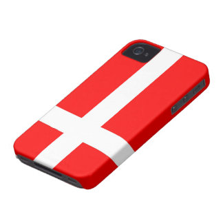 Flag of Denmark  iPhone 4/4S Cases