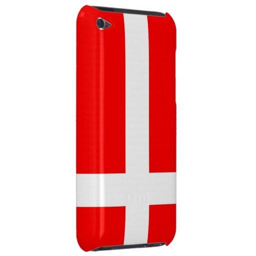 Flag of Denmark iPod Touch case
