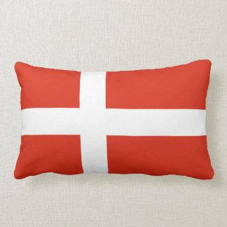 Flag of Denmark Lumbar Pillow