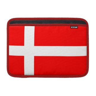 """Flag of Denmark MacBook Air 11"""" Sleeve"""