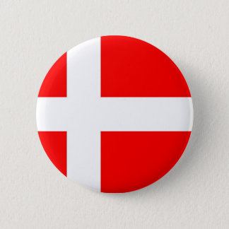 Flag of Denmark Pinback Button