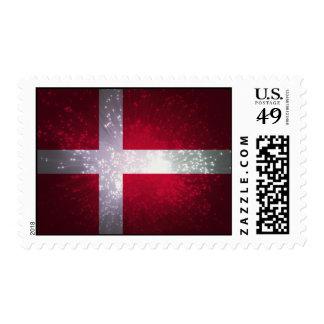 Flag of Denmark Postage