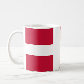 Flag of Denmark - Scandinavian cross Coffee Mug