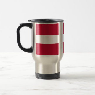Flag of Denmark - Scandinavian cross Travel Mug
