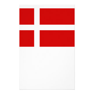 Flag of Denmark Stationery