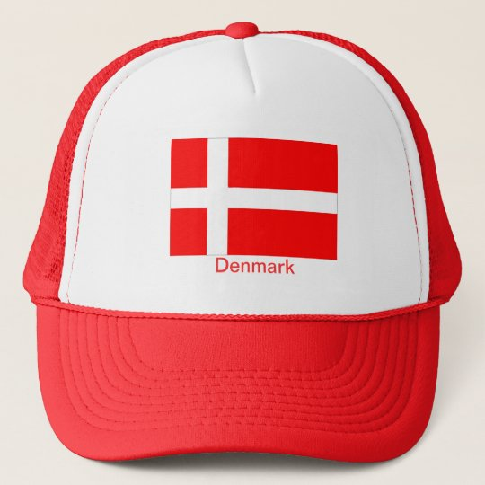 Flag of Denmark Trucker Hat