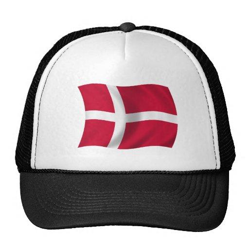 Flag of Denmark Trucker Hat