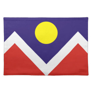 Flag of Denver Cloth Placemat