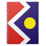 Flag of Denver Spiral Note Book