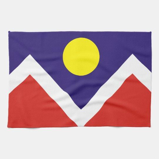 Flag of Denver Towels