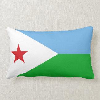 Flag of Djibouti Lumbar Pillow