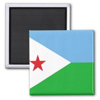 Flag of Djibouti Magnets