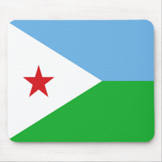 Flag of Djibouti Mouse Pad