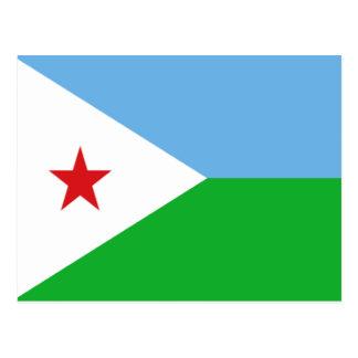 Flag of Djibouti Postcard