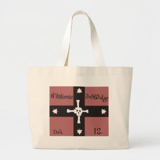 Flag of Doliente De Hidalgo Jumbo Tote Bag