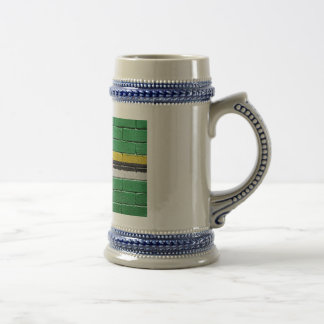 Flag of Dominica Beer Stein