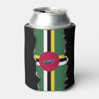 Flag of Dominica Can Cooler
