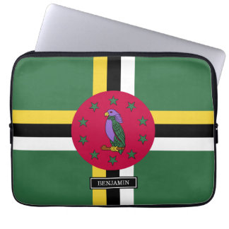 Flag of Dominica Computer Sleeve
