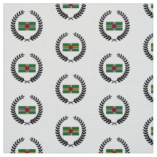 Flag of Dominica Fabric