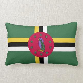Flag of Dominica Lumbar Pillow