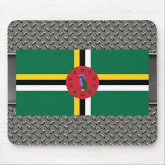 Flag of Dominica Mouse Pad