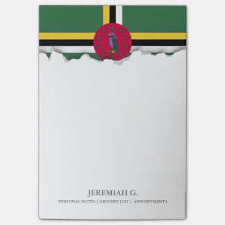 Flag of Dominica Post-it Notes