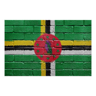 Flag of Dominica Poster