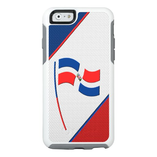 Flag of Dominicana OtterBox iPhone 6/6s Case