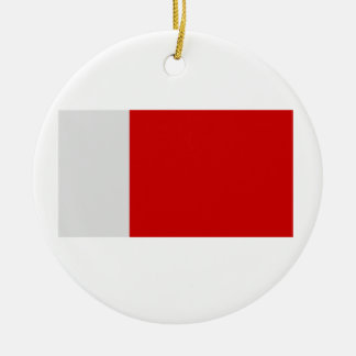 Flag of Dubai Ceramic Ornament