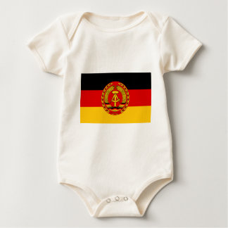 Flag of East Germany - Flagge der DDR (GDR) - NVA Baby Bodysuit