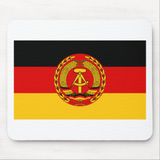 Flag of East Germany - Flagge der DDR (GDR) - NVA Mouse Pad