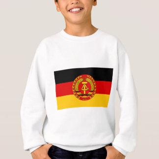 Flag of East Germany - Flagge der DDR (GDR) - NVA Sweatshirt