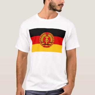 Flag of East Germany - Flagge der DDR (GDR) - NVA T-Shirt