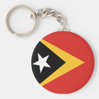 Flag of East Timor Keychain